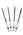 Ручки гелевые со сменным стержнем